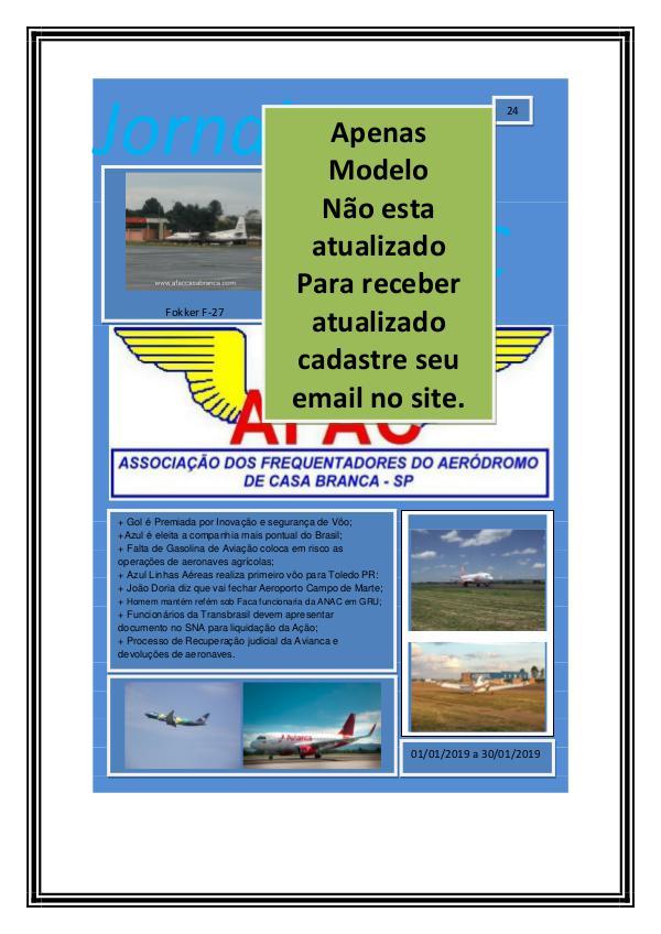 Jornal Digital AFAC- 24 Edição modelo para o site