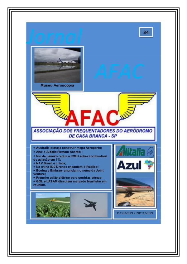 Jornal Digital AFAC - Edição 33 Edição 34