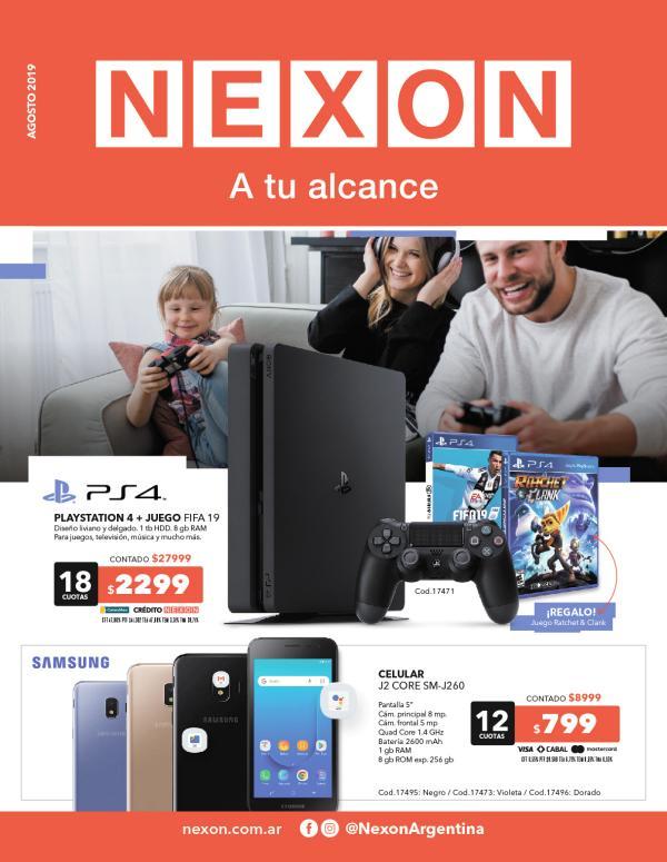 Catálogo Agosto - Nexon Catálogo Agosto19 Nexon