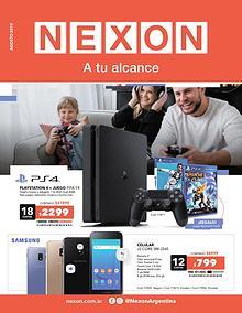 Catálogo Agosto - Nexon