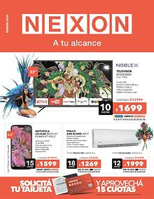 Catálogo Febrero 2020 - Nexon