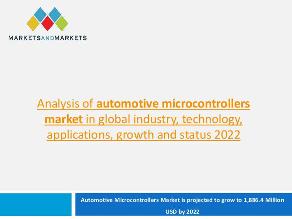 Automotive Microcontrollers Market