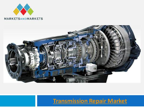 Transmission Repair Market