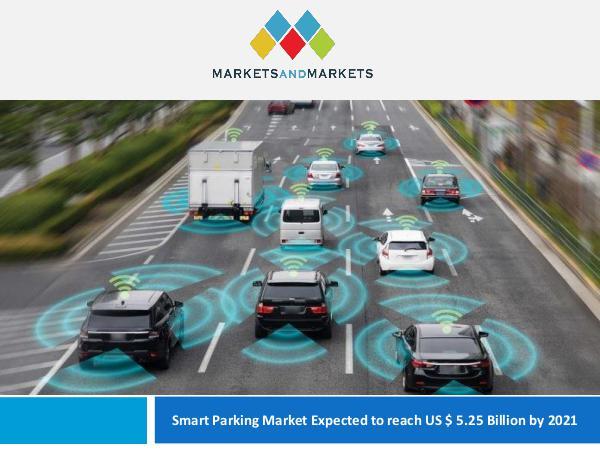 Smart Parking Market Scope, Shares, Size 2021