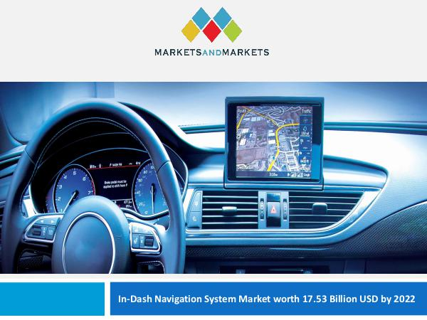 Automotive Market Revenue, Trends, Growth, Technologies, CAGR In-Dash Navigation System Market