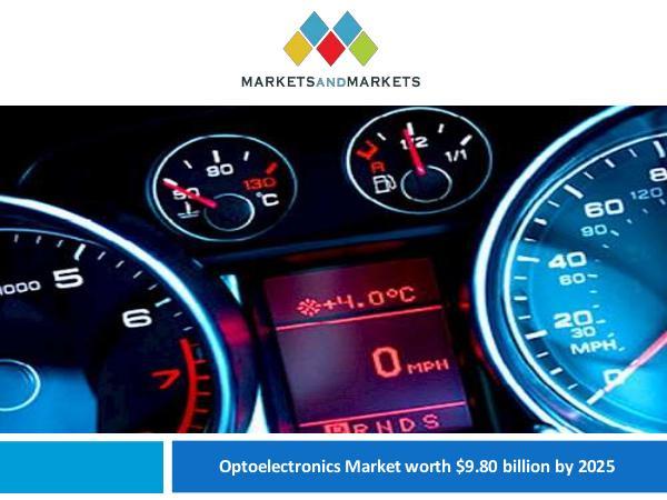 Automotive Market Revenue, Trends, Growth, Technologies, CAGR Optoelectronics Market