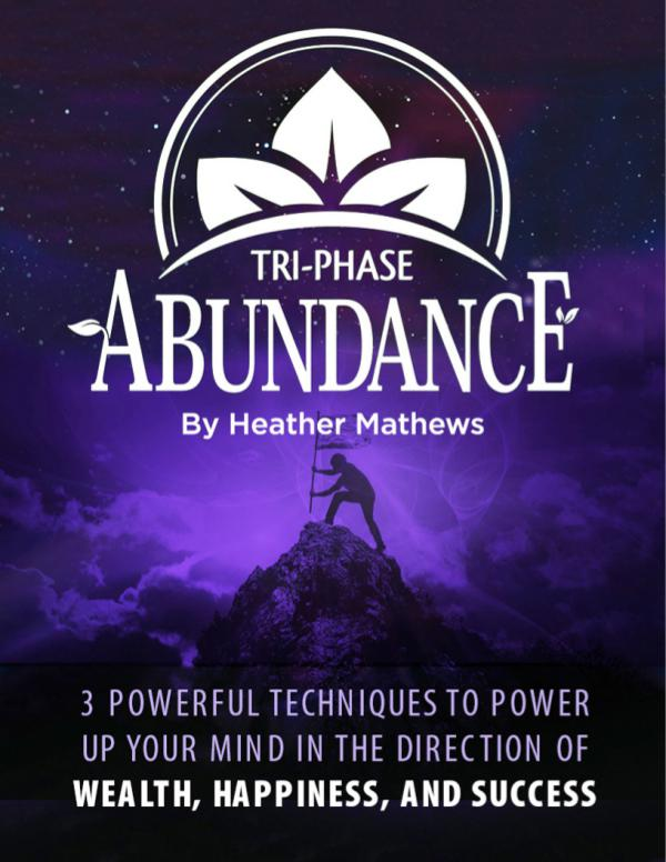 Manifestation Miracle PDF Review & Download (Heather Mathews) Manifestation Miracle PDF Download, Tri-Phase