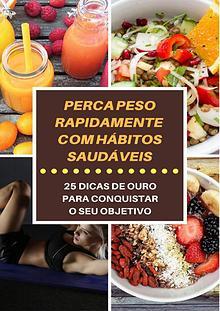 25 DICAS PARA EMAGRECER RÁPIDO E COM SAÚDE