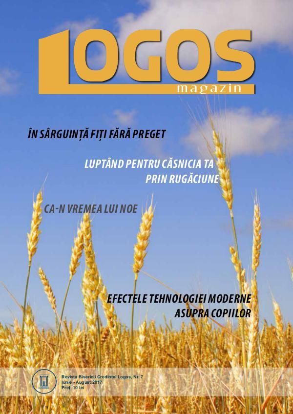 Revista Logos Magazin Logos Magazin 7