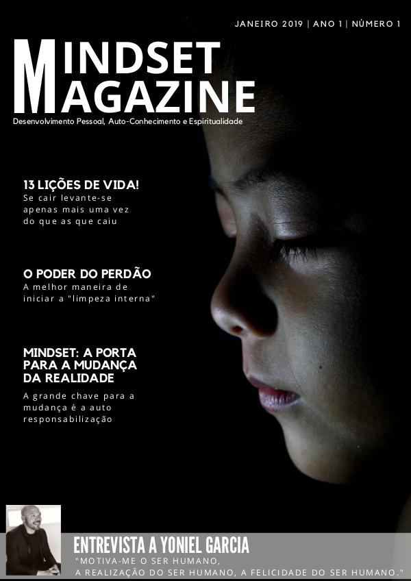 Mindset Magazine | Ano 1 | Número 1 | Janeiro 2019 Mindset magazine Janeiro 2019A