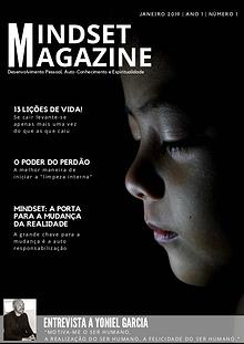 Mindset Magazine | Ano 1 | Número 1 | Janeiro 2019