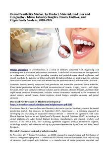 Healtcare Dental Prosthetics Market