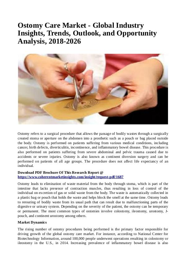 Healtcare Ostomy Care Market