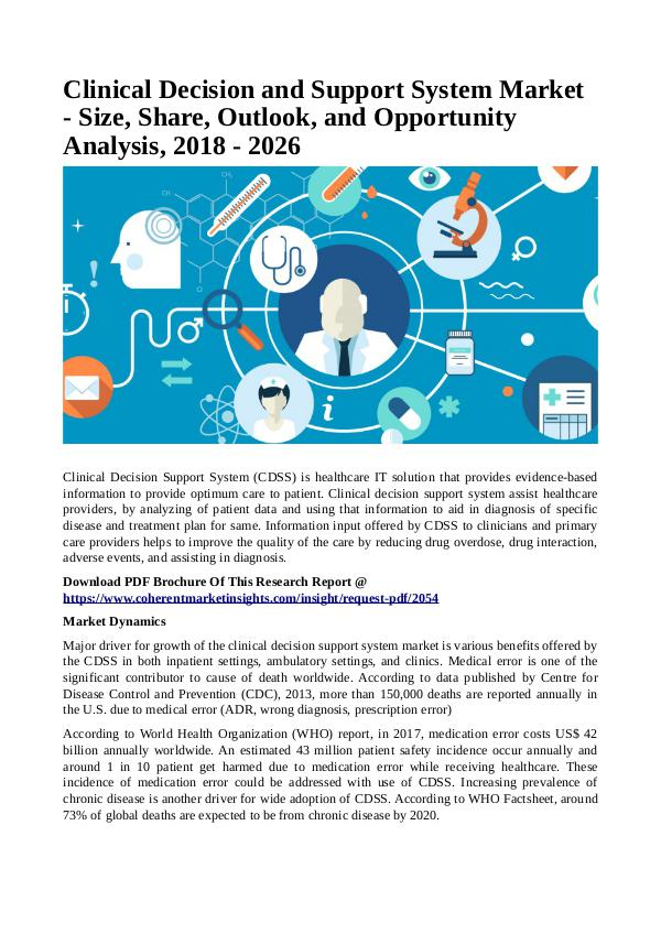 Healtcare Clinical Decision and Support System Market1