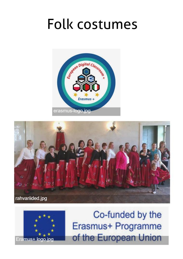 Folk costumes Folk costumes