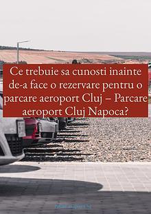 Parcare Aeroport Cluj