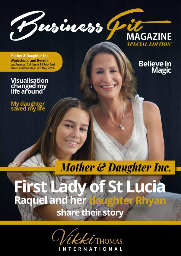 Business Fit Magazine Special Editions Mother & Daughter Special Edition