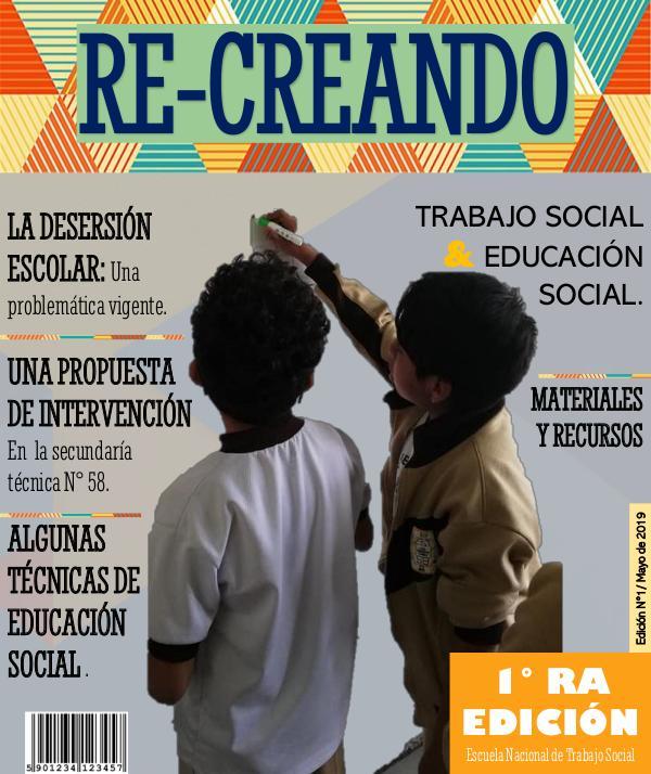 Mi primera publicacion REVISTA DIGITAL. Re - Creando. Las colombianas.