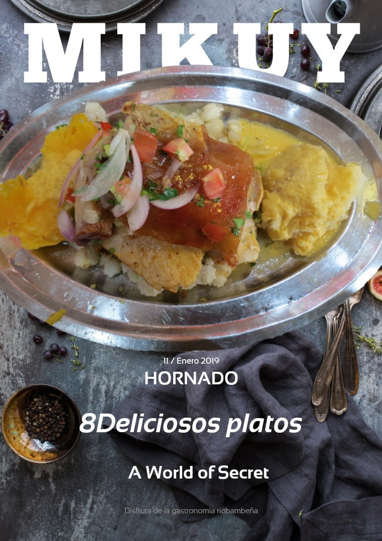 Platos típicos de Riobamba 1