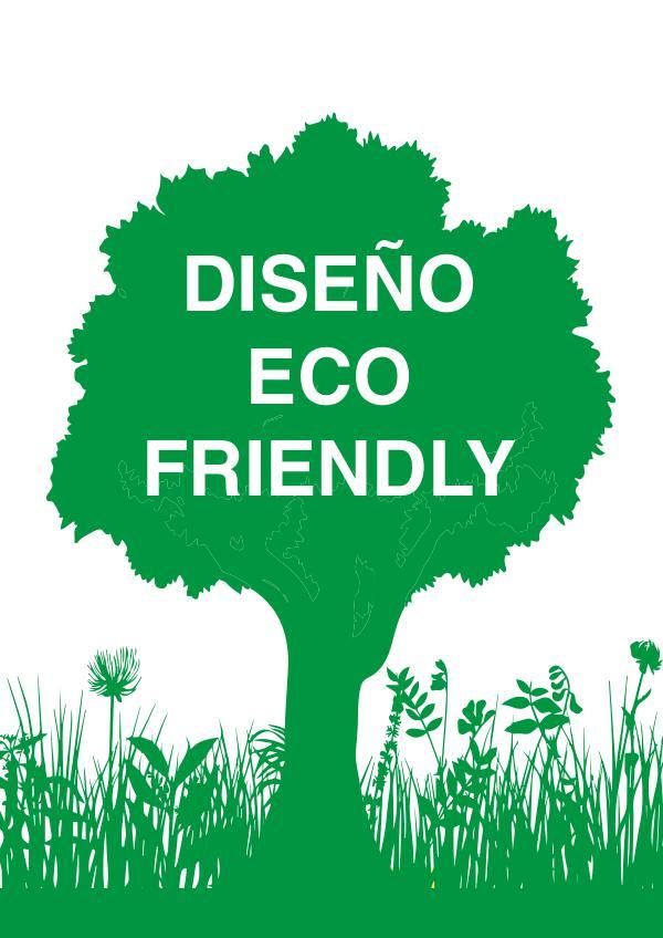 Revista de diseño ecológico maquetación de revista