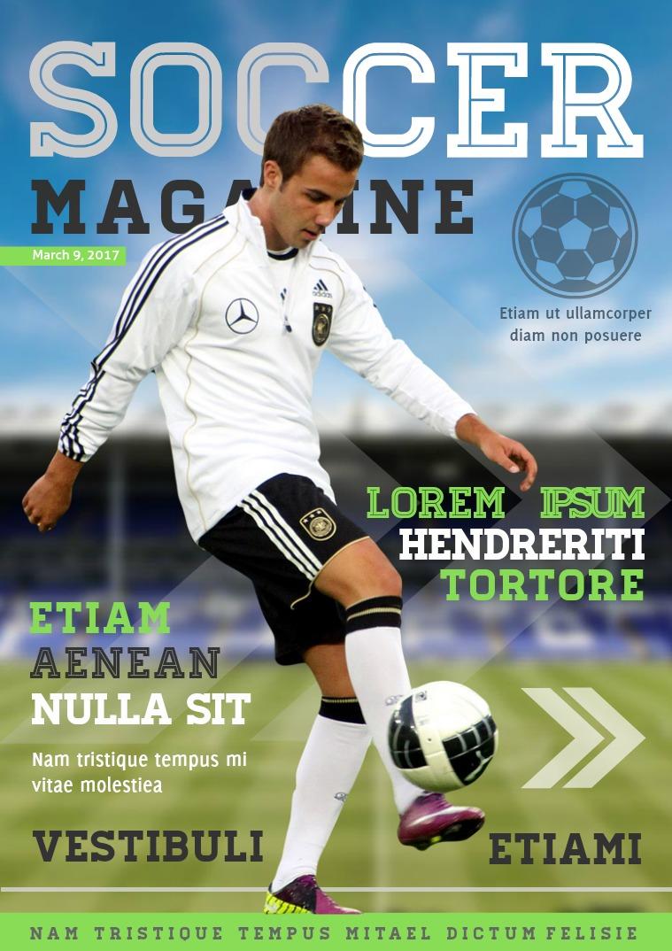 My first Magazine ifan sports