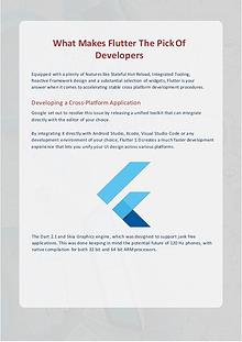 Flutter App Development