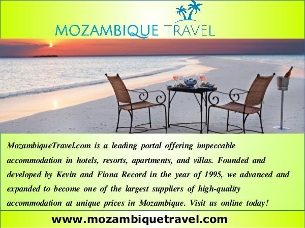 Mozambique holiday packages