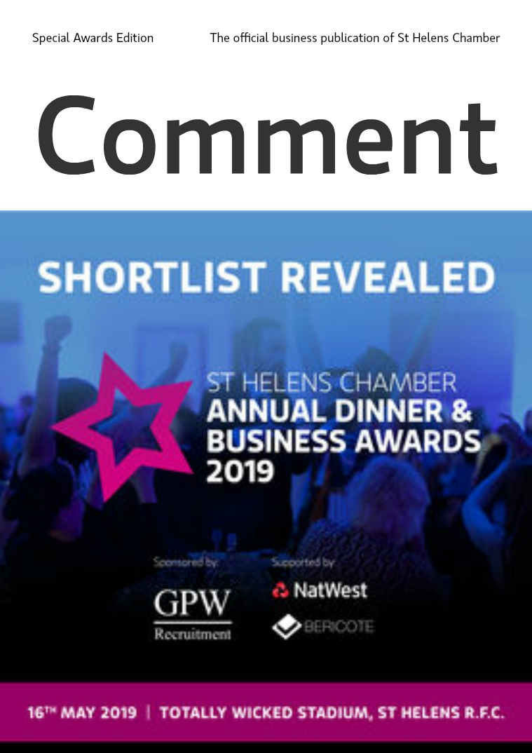 Comment Special issue: Chamber Awards Shortlist Revealed!