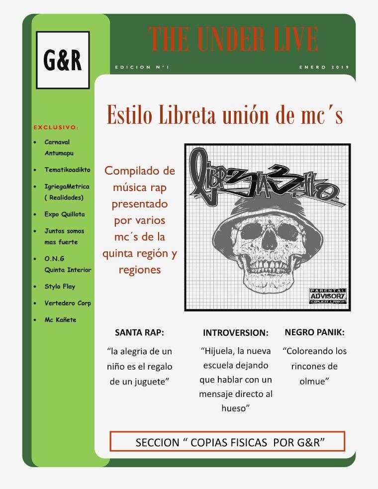 THE UNDER LIVE  ( edición 1 ) edicion n°1