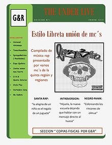 THE UNDER LIVE  ( edición 1 )