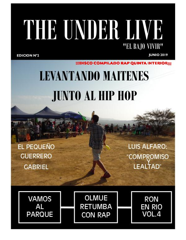 THE UNDER LIVE ( 2DA EDICIÓN ) edicion 2