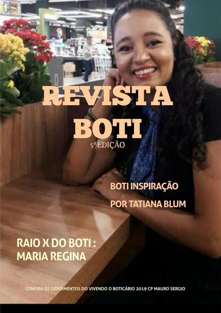REVISTA BOTI 5° Edição 24/05/2019