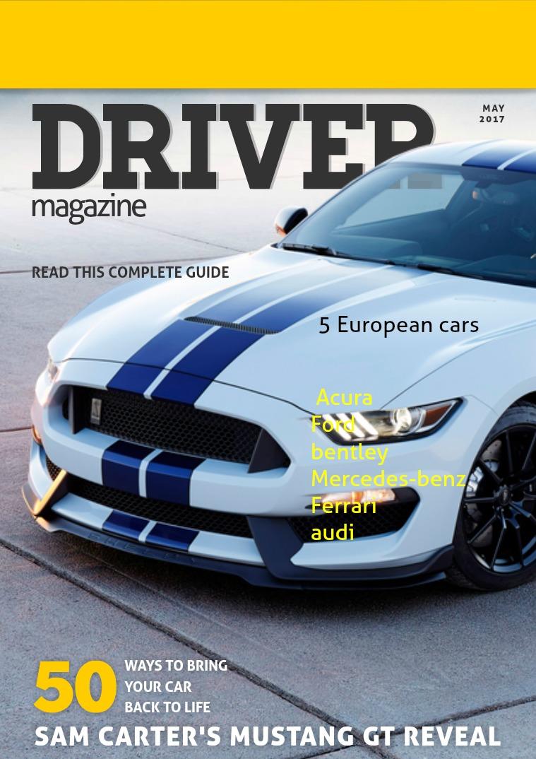 Mi primera revista Driver magazine