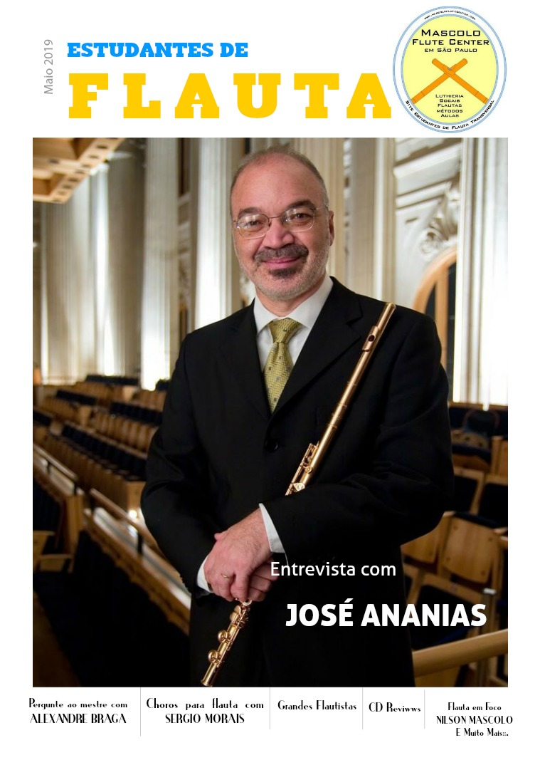 Revista Estudantes de Flauta Edição 1 Volume 1