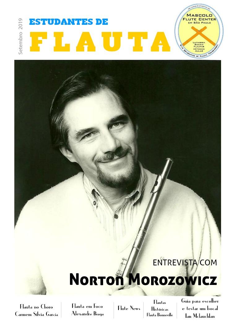 Revista Estudantes de Flauta Edição 1 Volume 1(clone)