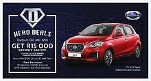 Bidvest McCarthy Nissan Randburg January specials!!