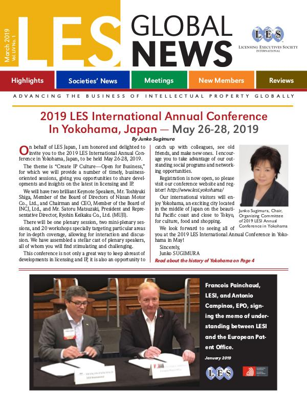 LES Global News - Free Issues March 2019