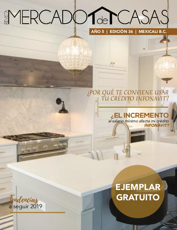 Revista Mercado de Casas- Edición Enero/Febrero 2019 Revista Mercado de Casas- Edición Ene/Feb 2019