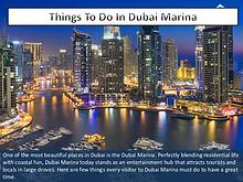 25 Things To Do Around Dubai Marina