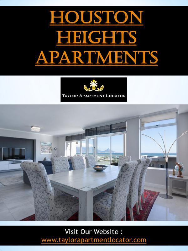 Uptown Apartment Locator Houston Heights Apartments