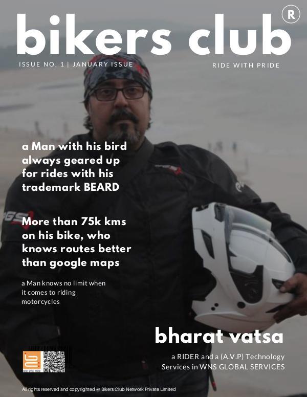 BIKERS CLUB JAN 2019 ISSUE