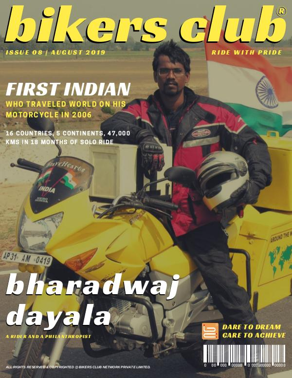 BIKERS CLUB AUGUST 2019 ISSUE