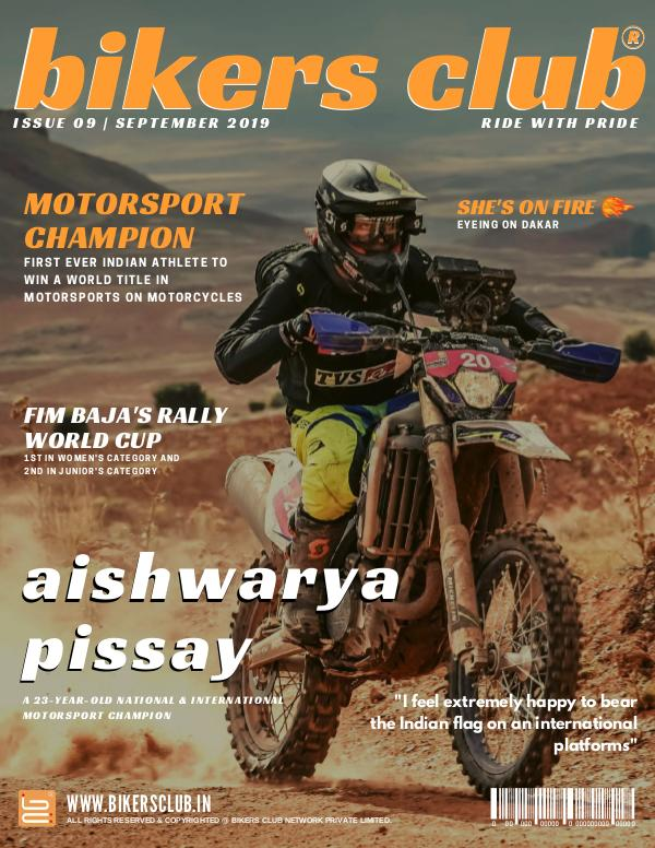 BIKERS CLUB SEPTEMBER 2019 ISSUE