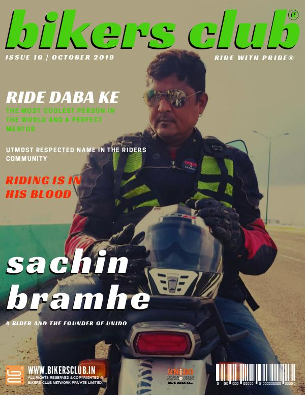 BIKERS CLUB OCTOBER 2019 ISSUE