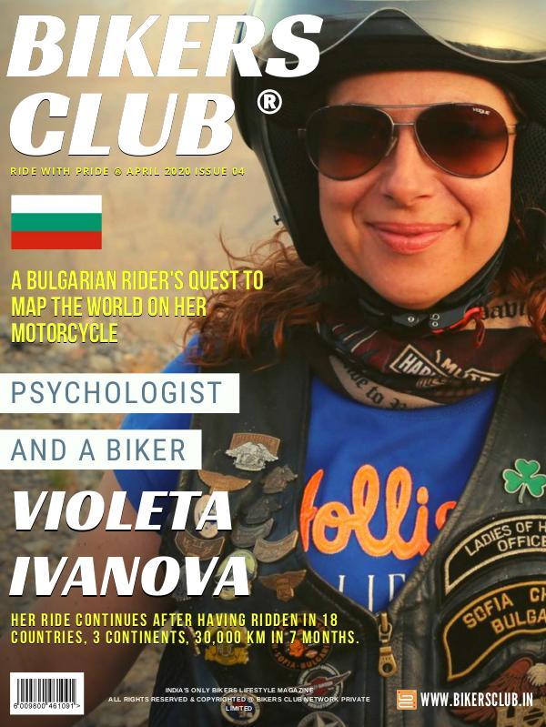 BIKERS CLUB APRIL 2020 ISSUE