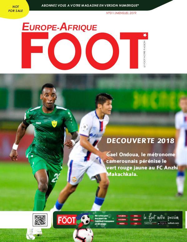 Europe-Afrique FOOT N°11/2019