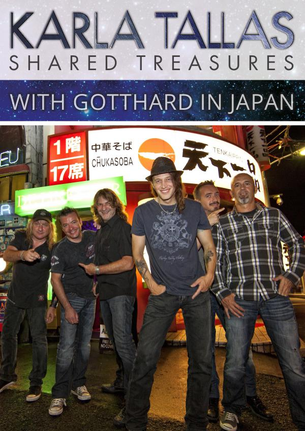 KARLA TALLAS - REPORTS WITH GOTTHARD IN JAPAN