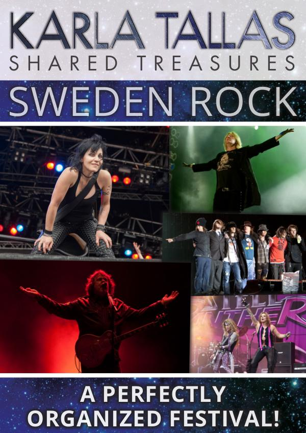 KARLA TALLAS - RECOMMENDED SWEDEN ROCK - A PERFECTLY ORGANIZED FESTIVAL!