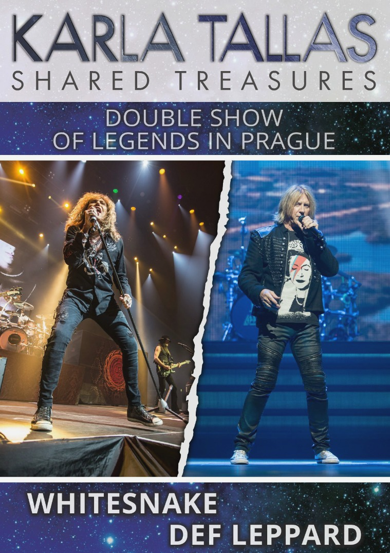 KARLA TALLAS - REPORTS WHITESNAKE/DEF LEPPARD-DOUBLE SHOW OF LEGENDS