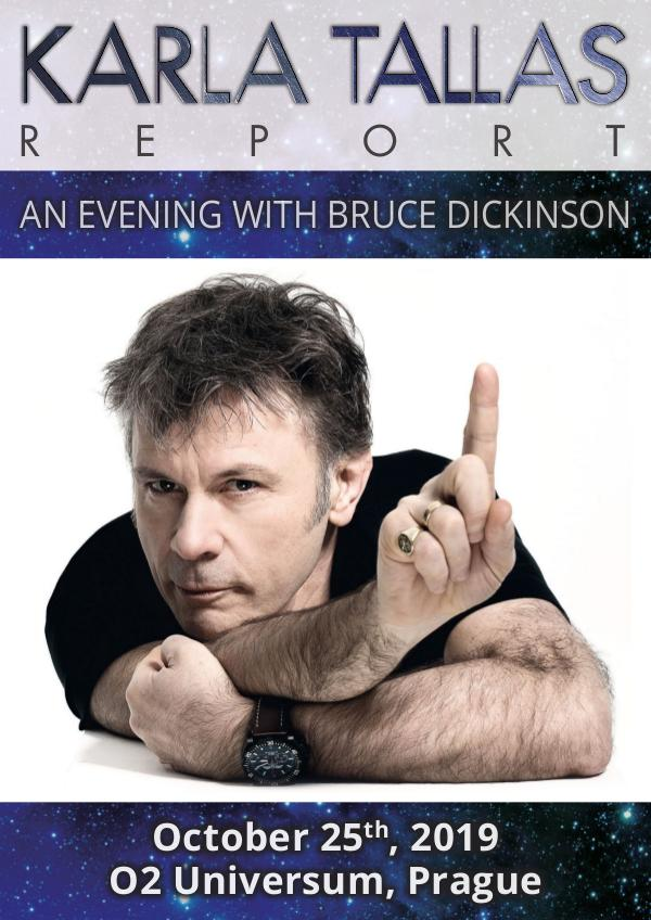 KARLA TALLAS - REPORTS AN EVENING WITH BRUCE DICKINSON